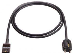 as – Schwabe 70874 Heissgeräte-Zuleitung 155 C, 2m H05RR-F 3G1,0, schwarz, IP20 Innenbereich
