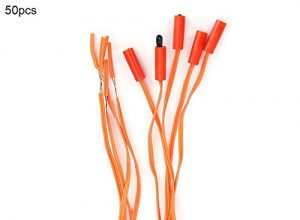 KSTE 50pcs Feuerwerk Zündkabel, elektronische drahtlose Fernbedienung Kupferdraht Feuerwerk Firing System Cord