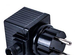 Köhko Trafo 12V 4,8 VA/W AC Netzteil für Außenbereich IP44 LED-Beleuchtung und Pumpe Transformator 400 mA 29016-400
