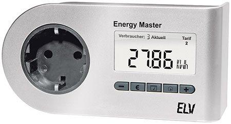 ELV Energy Master Profi-2 Energiekosten-Messgerät, ARR-Bausatz