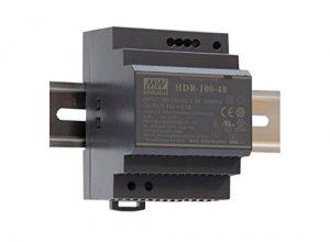 Mean Well HDR-100-24N Netzteil-1 Ausgang-100 W-Hutschienenmontage-24 V 4.2 A-Für Industrielle Anwendung