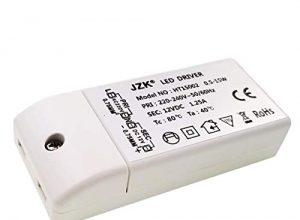 JZK® Eingang: 220-240V, Ausgang: DC 12V, 1.25A DC, 15W, LED-trafo LED leuchmittel transformator netzteil treiber, 9.1 × 4.1× 1.9 cm
