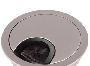 SO-TECH® Kabeldurchführung Kabeldurchlass aus Metall Edelstahl matt Optik ! Achtung – Neues Bohrmaß Ø 68 mm !