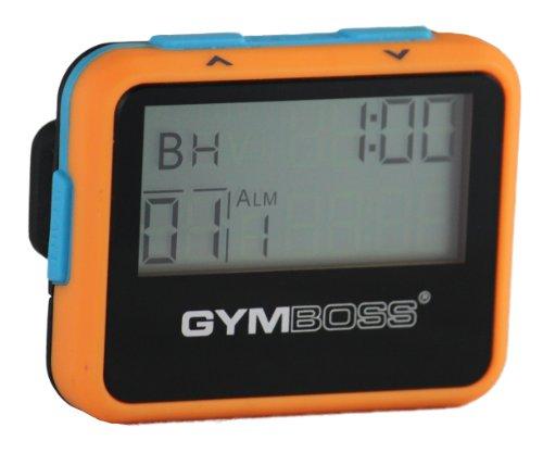 Gymboss Intervallzeitgeber Und Stoppuhr ORANGE / BLAU SOFTBESCHICHTUNG