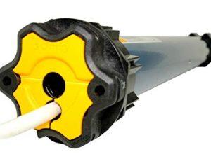 Somfy® Rolladenmotor: Einsteckantrieb Ilmo 2 50 WT inkl. Einbruchschutz durch 3 Hochschiebesicherungen, Motorlager, Anschlusskabel und SW 60 Adapter / Mitnehmer. Ilmo 2 50 WT 15/17