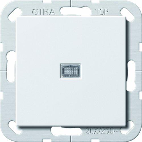 Gira 283403 Wippschalter Aus 2p Kontroll 20A System 55, reinweiß