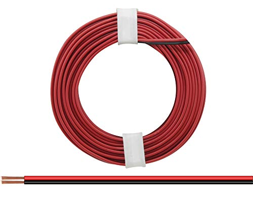 Unbekannt Donau Elektronik 218-5Double Wire, rot/schwarz, 5m