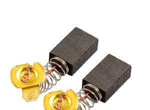 Paar Electric Motor Reparatur Teil Kohlebürsten 5mm x 8mm x 12mm