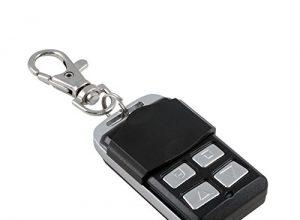 3T-MOTORS Funk-Minisender FMSF mit Schlüsselanhänger, Mini-Funk-Fernbedienung 1-Kanal, Funksender für Rolladenmotor, Markisenmotor, Funk-Empfänger, Funksteuerung, Smarthome kompatibel