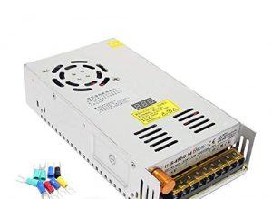 Wisamic Trafo Transformator Adapter Netzteil Schaltnetzteil Einbautrafo Netzteil Stromversorgung AC 110-220V/DC 0-24V 20A 480W für LED Beleuchtung,Mit dem Digitalen Display