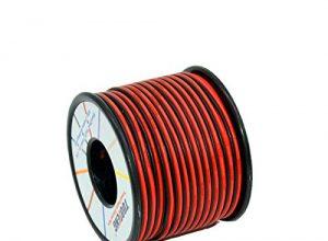 TUOFENG Elektrokabel 20 Gauge 30 m 2pin Silikon Draht Haken Draht Kabel weich und flexibel 100 Stränge 0,08 mm verzinnt Kupferdraht Hohe Temperaturbeständigkeit