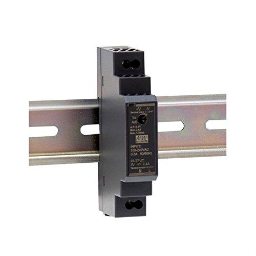 Hutschienen Netzteil 15W 12V 1,25A ; MeanWell HDR-15-12 ; DIN-Rail Trafo