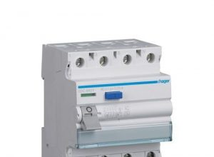 Hager HAGCDC440Y FI-Schutzschalter 40A 4-p 0,03A Wechselstromsens/Stoßstromfe