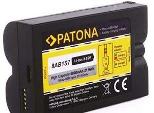 Video Spotlight Cam und Doorbell 2 – PATONA Ersatz für Akku Batterie Ring 8AB1S7-0EU0