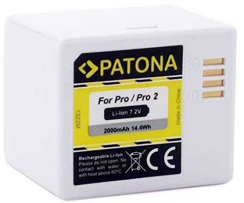 PATONA 1322 Ersatz für Akku Arlo VMA4400 nur kompatibel mit Arlo Pro / Pro2