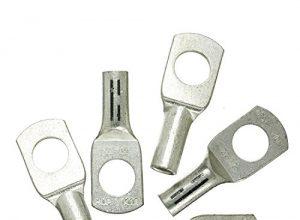 Haupa BLV290430 Presskabelschuh verzinnt 25mm² M12 5 Stück, 25 mm ²