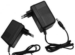 AC – AC 9V Steckernetzteil 5,5mm Hohlstecker Wechselspannung Netzteil Trafo Ampere: 1A 9V/500mA