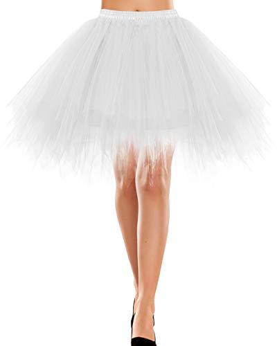 Top 10 Ballet Tutu Damen Weiß – Tanzröcke für Damen