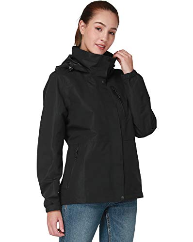 Top 9 Jacke Damen Wasserdicht Atmungsaktiv Winddicht – Regenjacken & -mäntel für Damen