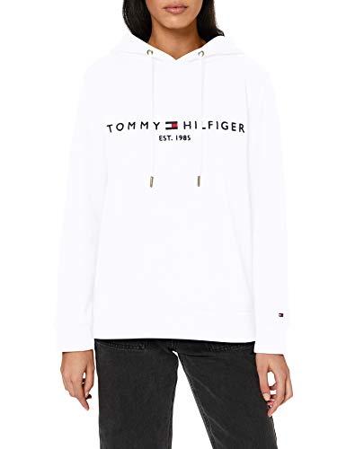 Top 5 Tommy Hilfiger Damen HOODIE Weiß – Kapuzenpullover für Damen