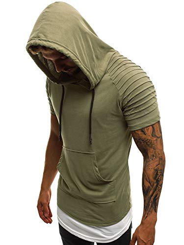 Top 10 OZONEE Herren T-Shirt – Fitness-Achselshirts für Herren