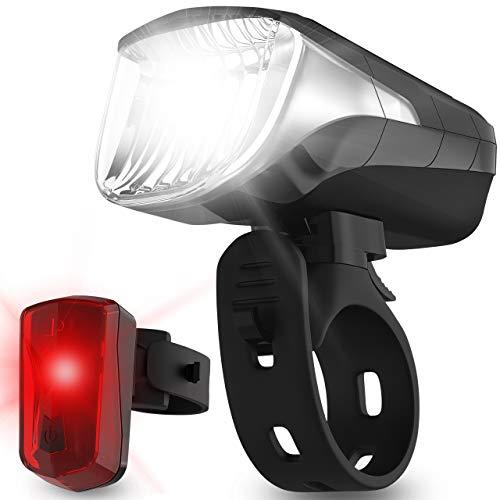 Top 10 Fahrad Lichtset LED USB – Fahrradlampensets