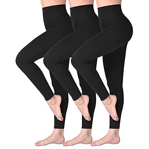 Top 10 Leggins Schwarz Damen – Activewear-Strumpfhosen & Leggings Damen