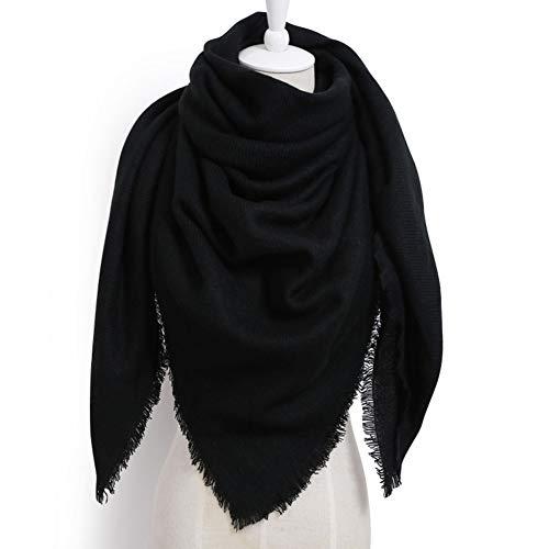 Top 10 Schal Schwarz Damen Winter – Schals für Damen