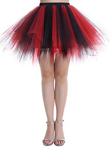 Top 6 Schwarz Rot Damen – Kleider für Damen