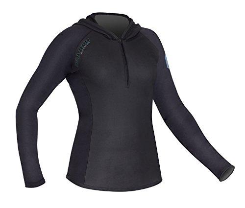 Top 10 Kapuzenshirt Damen Langarm schwarz – Kapuzenpullover für Damen
