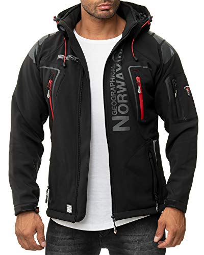 Top 7 Geographical Norway Herren Jacke – Outdoor Softshelljacken für Herren