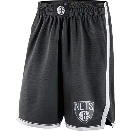 Top 9 Brooklyn Nets Trikot Schwarz – Basketball-Shorts für Herren