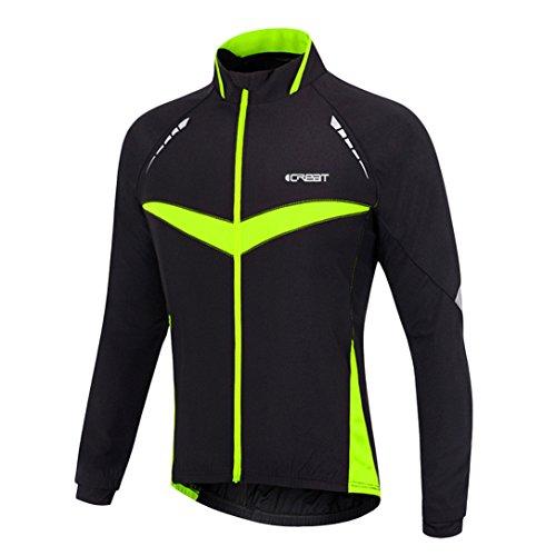 Top 10 iCREAT Herren Jacke – Radsport-Jacken für Herren