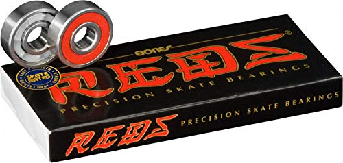 Top 2 Bones Bearings REDS – Kugellager für Skateboards