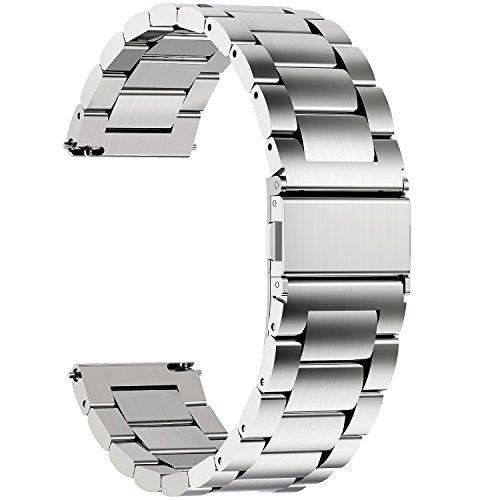 Top 8 Uhrenarmband 18mm Metall – Smartwatch Ersatzarmbänder