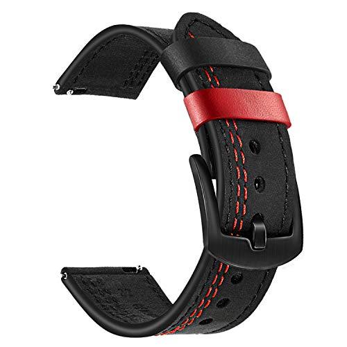 Top 10 Garmin Vivoactive 3 Ersatzarmband Leder – Smartwatch Ersatzarmbänder