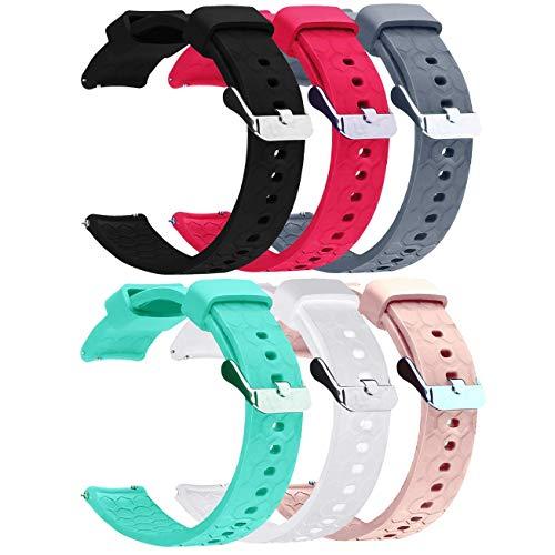 Top 10 Uhrenarmband 18mm Silikon – Uhrenarmbänder für Sportmessgeräte