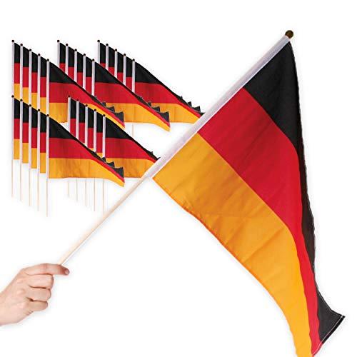 Top 10 Deutschlandfahne mit Stab – Flaggen & Wimpel für Fußball-Fans