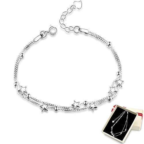 Top 10 Damen Kette Silber – Armbänder für Damen