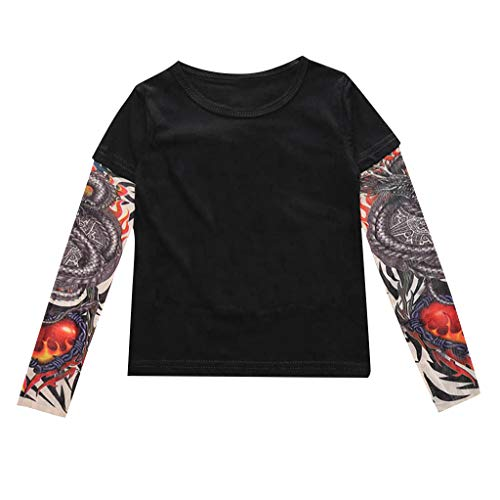 Top 10 Tattoo Tshirt Kinder – Sweatshirts für Jungen
