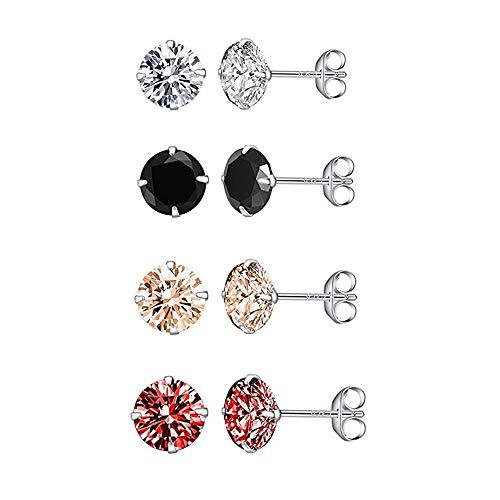 Top 10 Ohrringe Silber Stecker Set 925 – Ohrringe für Damen