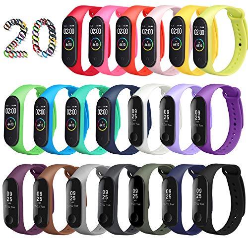 Top 10 Mi Fit Band 4 Ersatzband – Uhrenarmbänder für Sportmessgeräte