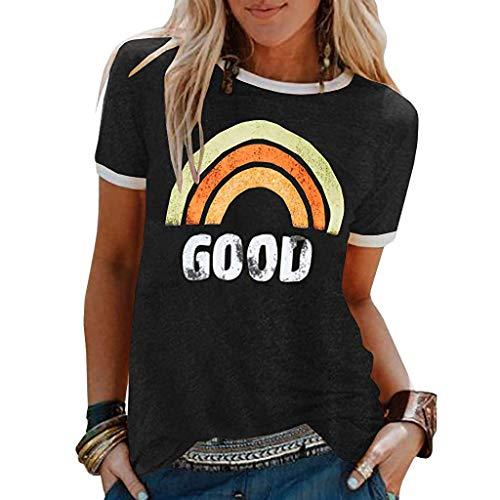 Top 10 Regenbogen Shirt Damen Gestreift – T-Shirts für Damen