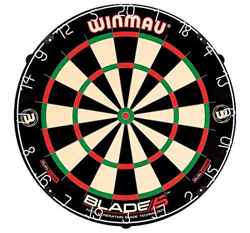Top 9 WINMAU Blade 5 Dual Core Dartboard – Klassische Dartboards
