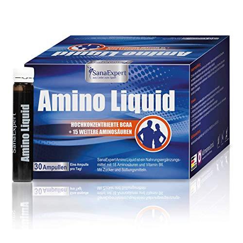 Top 9 Aminosäuren Ampullen – Verzweigtkettige Aminosäuren (BCAA)