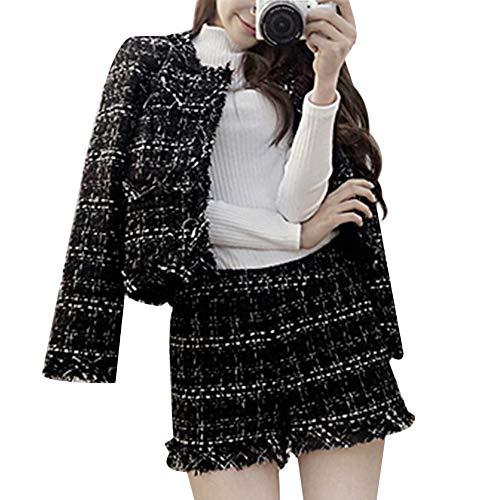 Top 9 Tweed Damen Blazer – Streatwear Trainingsanzüge für Damen