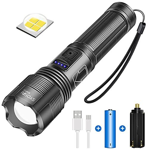 Top 10 Taschenlampe LED Aufladbar USB – Taschenlampen